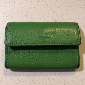 Leather Kate Spade business card holder